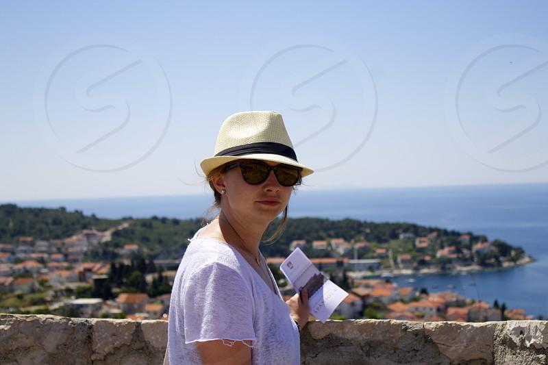 Above Hvar Town Croatia photo