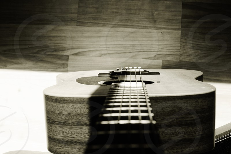 Got to love a good acoustic guitar photo