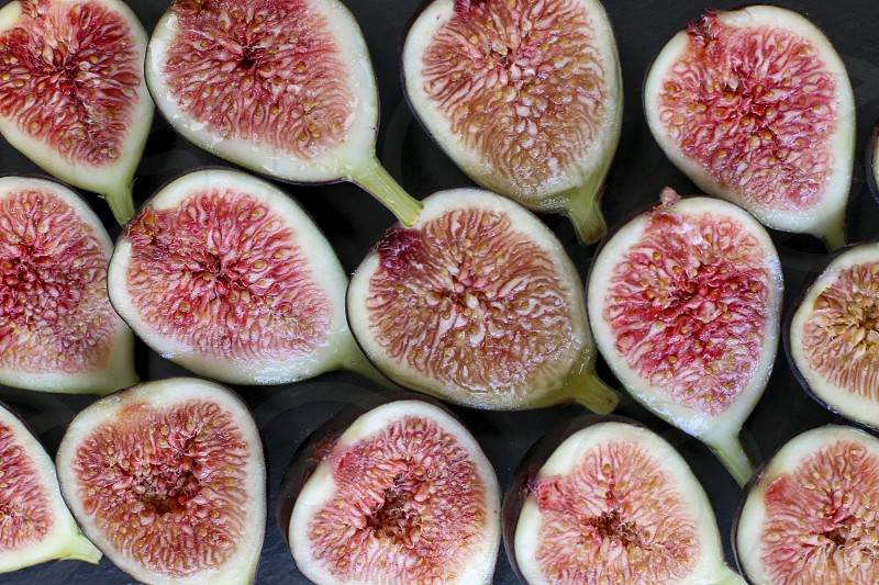 fig figs fruit fall autumn still life fruits purple pink fresh produce photo