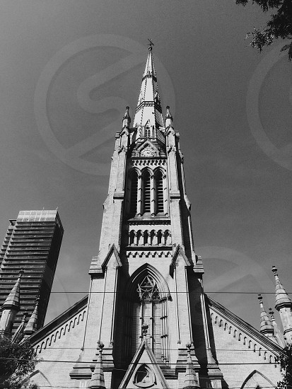 Church in downtown Toronto photo