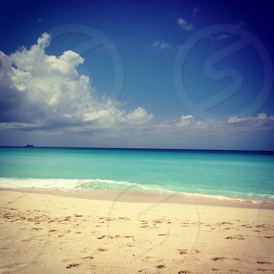 The most beautiful beaches in the world. Grand Cayman  photo