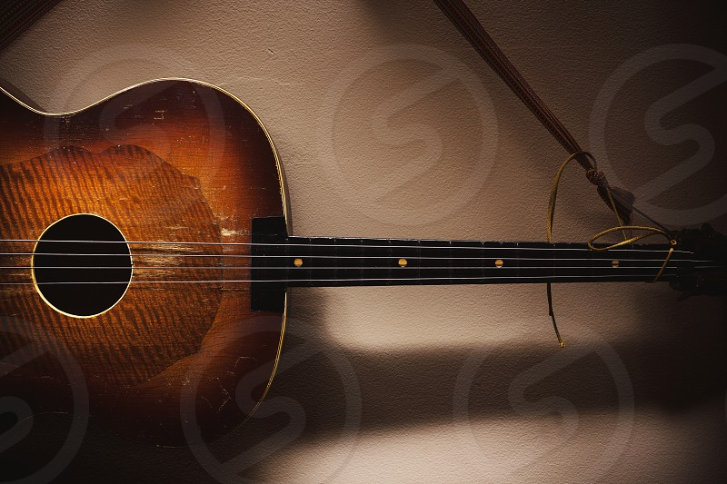Original string instrument called Tamburica Cello from Balkans. Part of Serbian Croatian and Hungarian culture.  photo