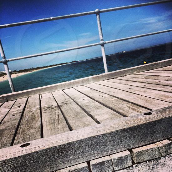 Boardwalk. Port Coogee Perth Western Australia  photo
