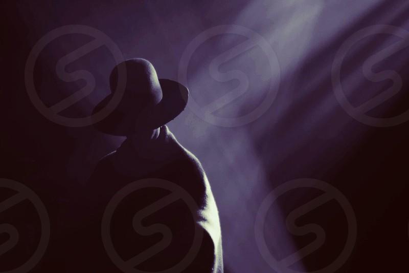 black hat photo