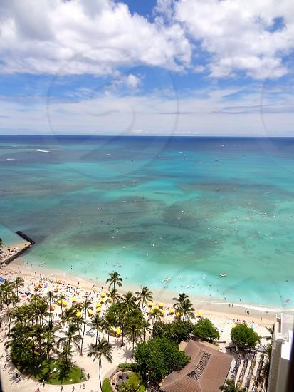 Waikiki Beach.  Oahu Hawaii photo