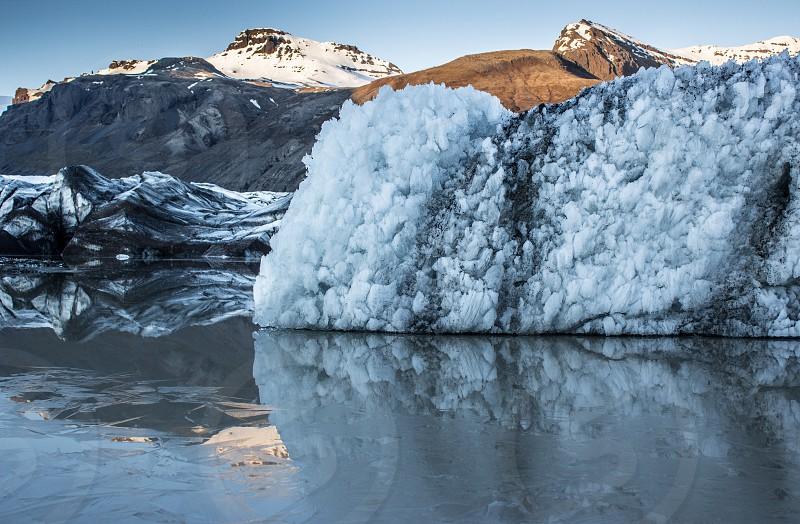 Iceland Glacier Reflections Travel photo
