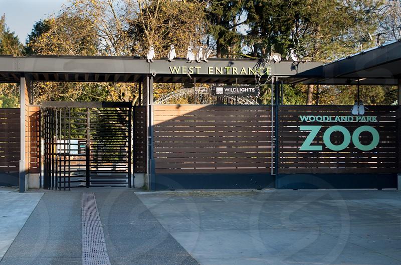 Woodland park zoo Seattle Washington zoo photo