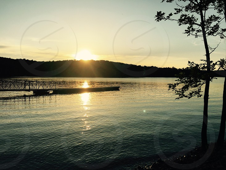 State Parks Nolin State Park Kentucky sunset family vacation road trip fishing photo
