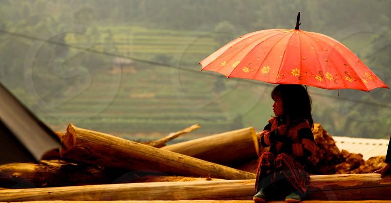 another world umbrella  photo