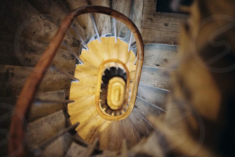 Parisian stairs. photo