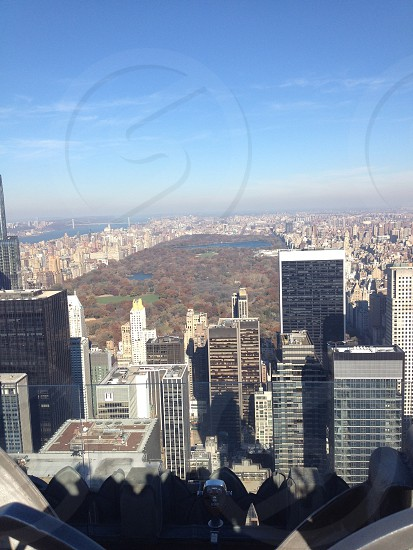 A view to Central Park. photo