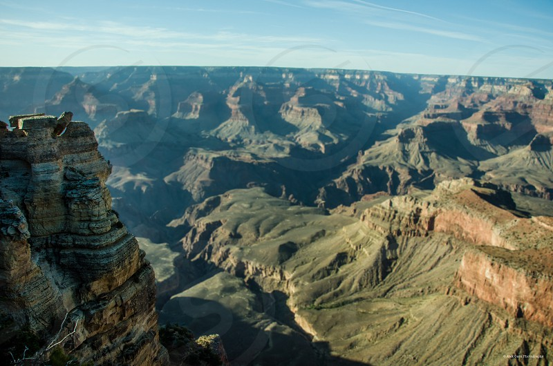 Grand Canyon thirds simple clear beautiful  photo