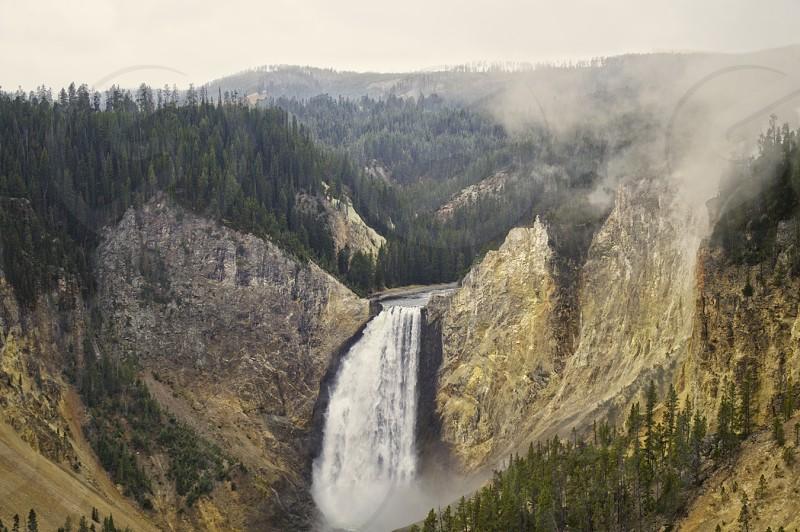 Lower Falls. Grand Canyon of Yellowstone photo