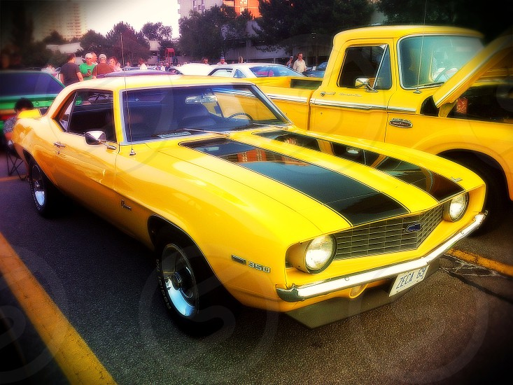 Chevrolet Camaro (Yellow/Black) photo