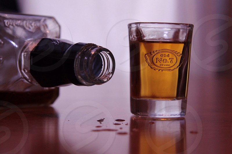 clear shot glass photo