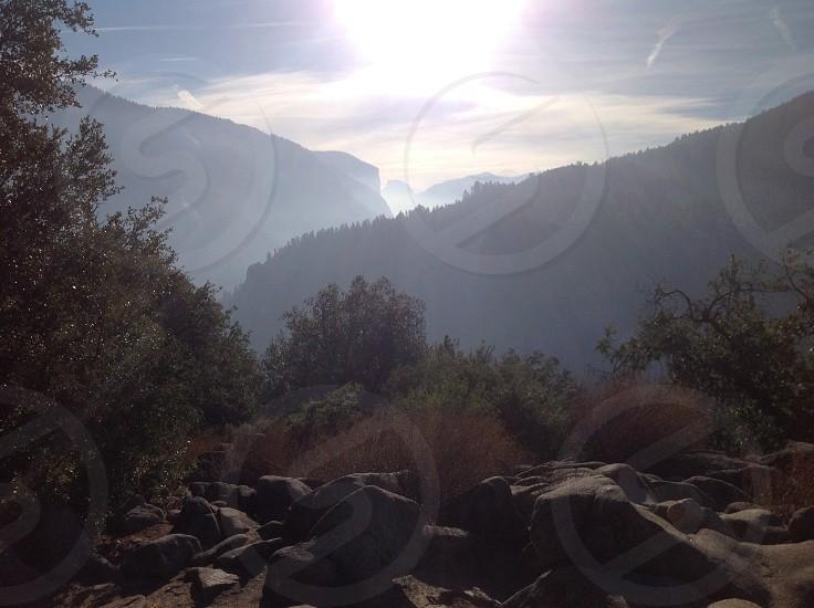 Sunrise Yosemite Valley photo