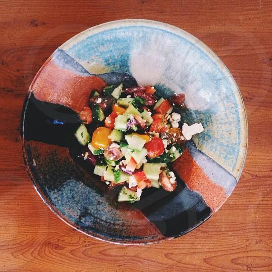 salad food photograph photo