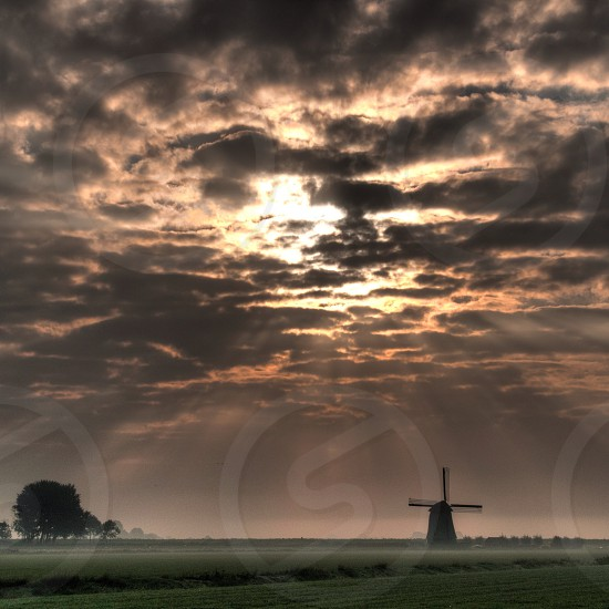 windmill blades photo