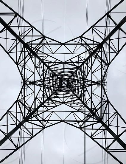 Electricity Pylon Perspective photo