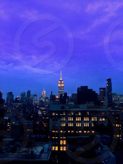 Manhattan Rooftop - NYC photo