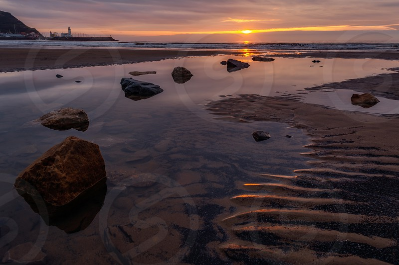 Scarborough South Beach - North Yorkshire - England photo
