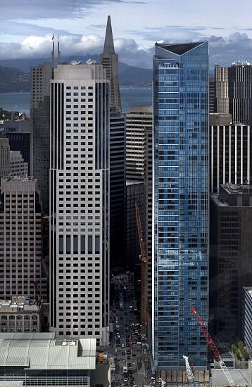 skyscraper building city view photography photo