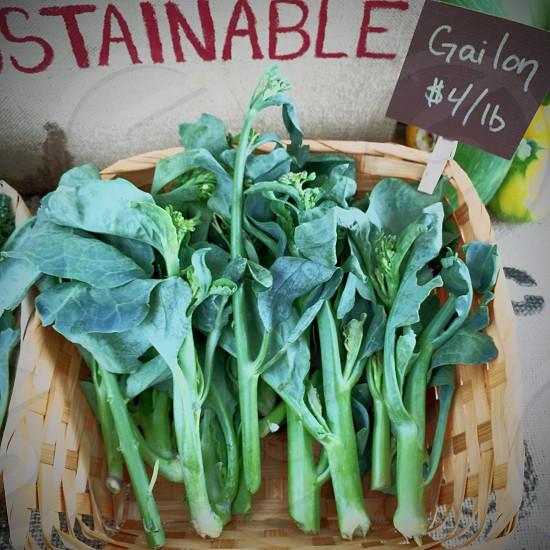 Veggies at the open market photo