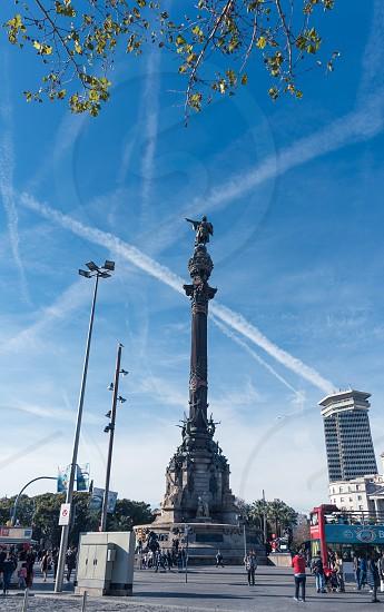 The Columbus Monument Barcelona Catalonia Spain photo