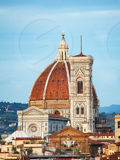 Giotto'S Bell Tower in Florence Tuscany Italy. photo
