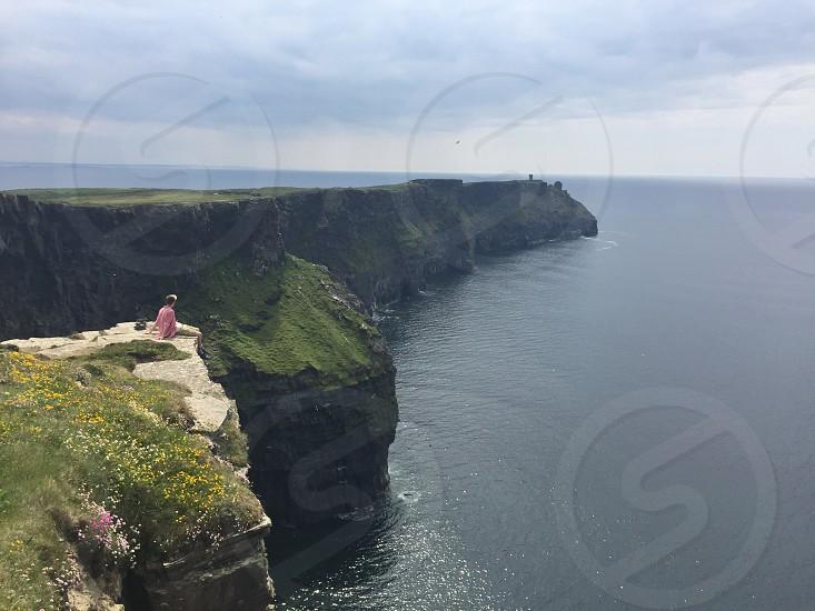 Cliffs in Ireland photo