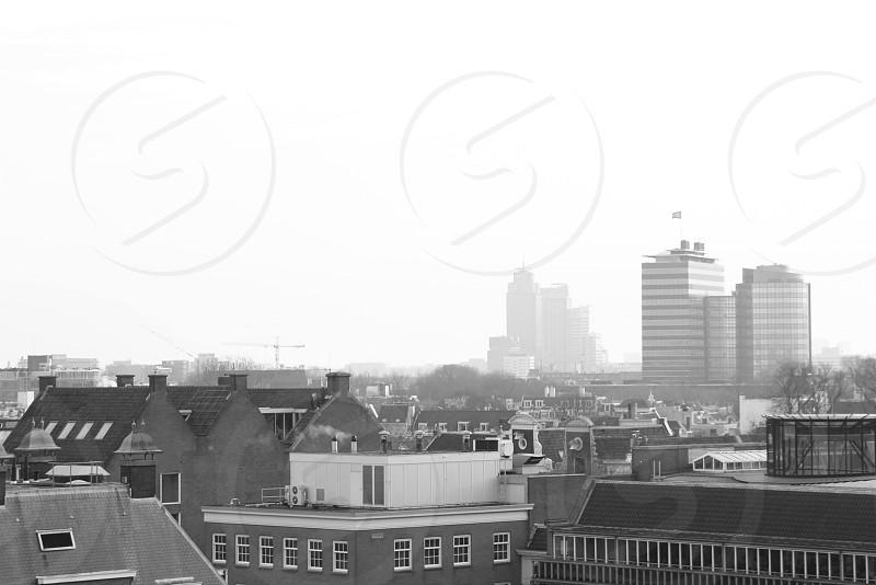 Foggy Amsterdam photo