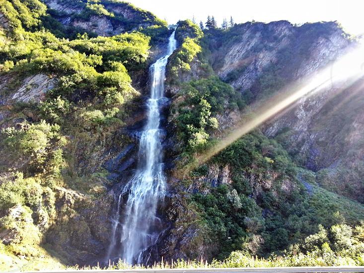 Alaskan Waterfall photo