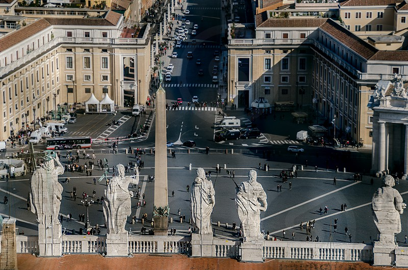 St. Peter's Square at the Vatican. photo