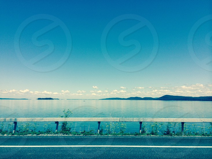 Across the way Lake Champlain NY photo