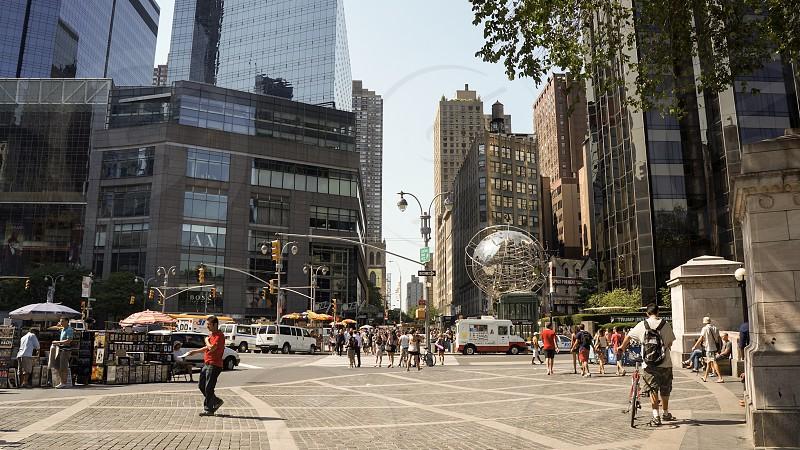 Street scene in New York City photo