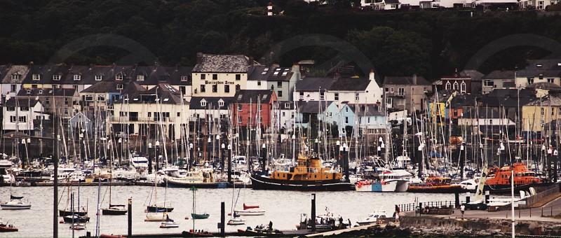 Ship docks in Plymouth  photo