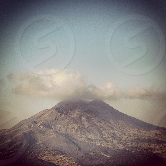 Volcano Bali Indonedia photo