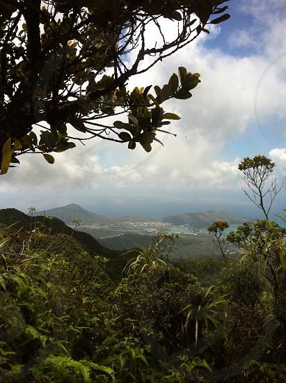 mountains; hike; hiking; view photo
