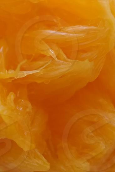 inside of a orange photo