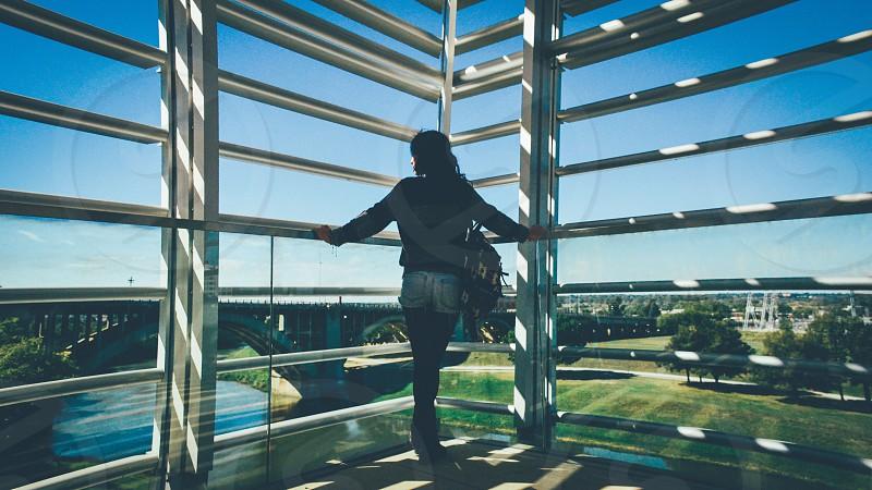 Fort Worth Texas on TCC Trinity River Campus photo