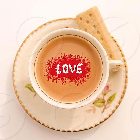 Tea and biscuit photo
