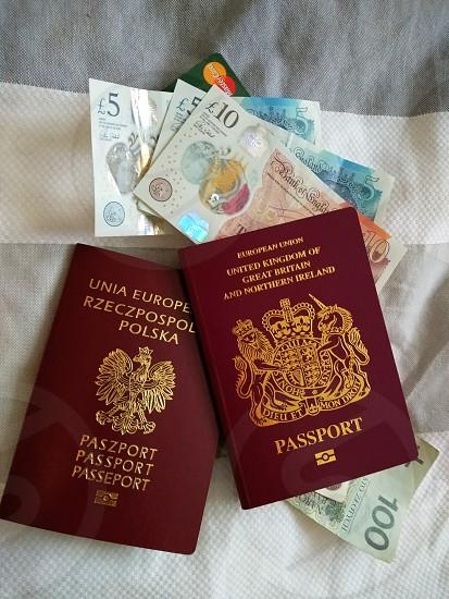 travel Poland England pounds zloty photo