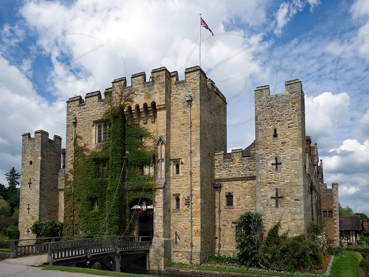 View of Hever Castle photo