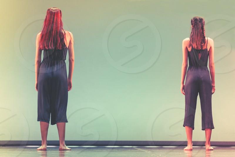 Female Modern Dancers photo