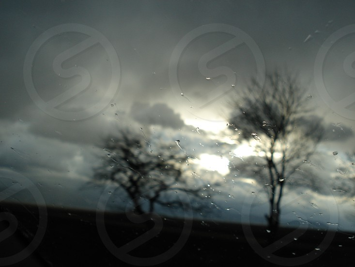 cloud and rain photo