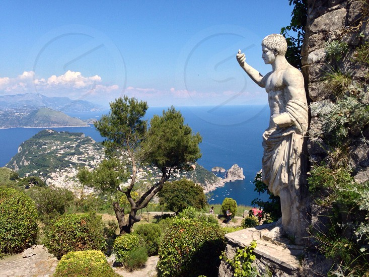 the island of Capri photo