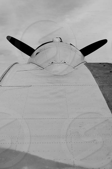 B-17 wing photo