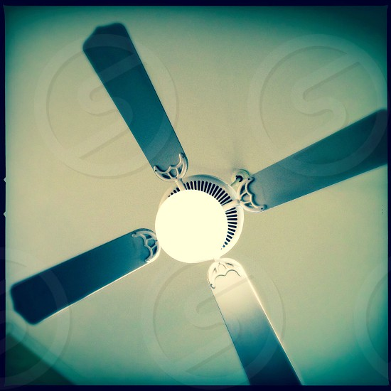 Hanging fan - close up photo