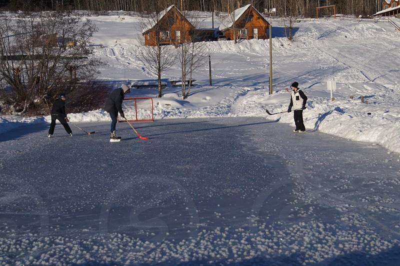 Home grown hockey photo