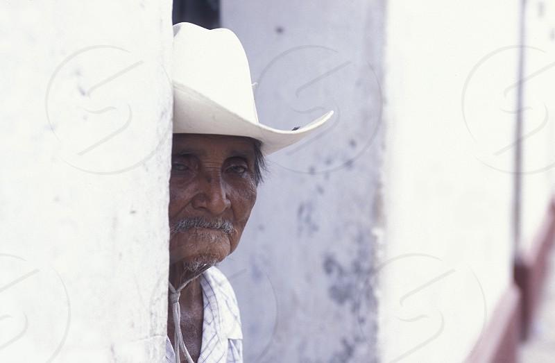 AMERICA LATIN AMERICA HONDURAS COPAN VILLAGE CITY TOWN MARKET  PEOPLE STREETS photo